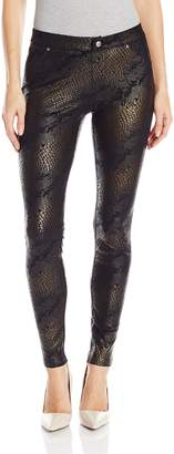 Hue Women's Python Microsuede Leggings