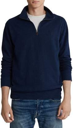 Polo Ralph Lauren Plaid Cotton-Blend Sweatshirt