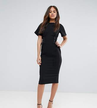 Asos Tall TALL Corset Detail Pencil midi dress