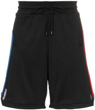 Marcelo Burlon County of Milan nba track shorts