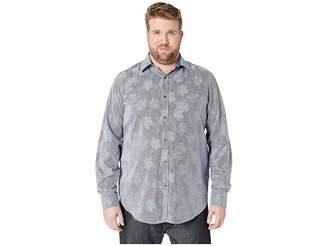 Robert Graham Big Tall Tomlinson Shirt (Blue