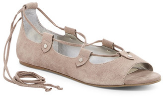 Carlos By Carlos Santana Eden Lace-Up Sandal $59 thestylecure.com