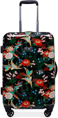 """Jessica Simpson Sweet Birds 20"""" Carry-On Spinner Suitcase"""