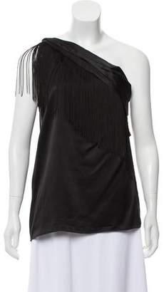 Rachel Zoe Off-the-Shoulder Silk Top