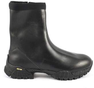 Alyx Black Smooth Leather Ankle Boot