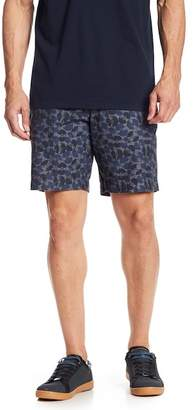 Ben Sherman Record Pattern Chambray Shorts