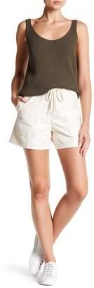 Vince Drawstring Patch Pocket Shorts