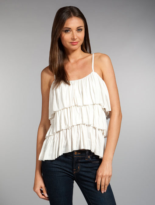 Paul & Joe Sister Orient Ruffle Top