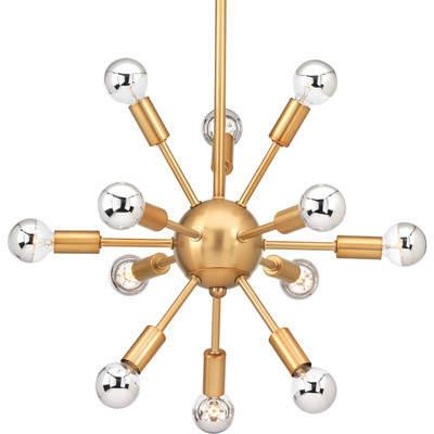 Brayden Studio Zimmerman 12-Light Sputnik Chandelier