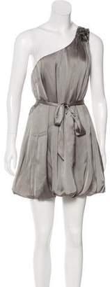 Salvatore Ferragamo One Shoulder Mini Dress