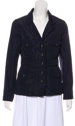 Chanel Button-Up Long Sleeve Coat