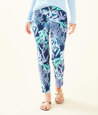 """Lilly Pulitzer 29"""" Kelly Skinny Ankle Pant"""