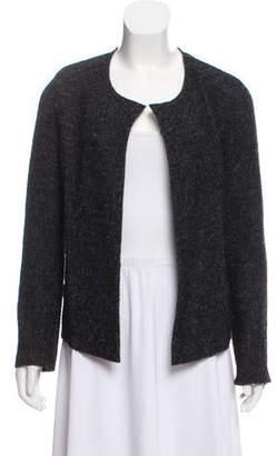 Etoile Isabel Marant Wool Collarless Jacket