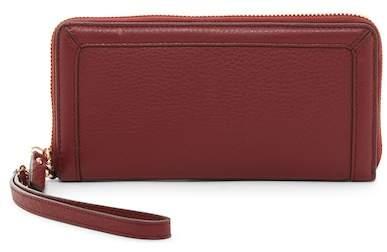 Vince Camuto Greva Leather Wristlet Wallet