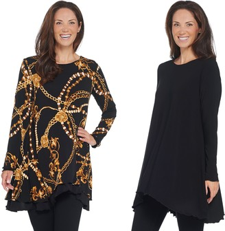 Women With Control Attitudes by Renee Regular Renee's Reversibles Tunic