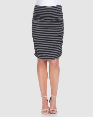Soon Ruched Maternity Skirt