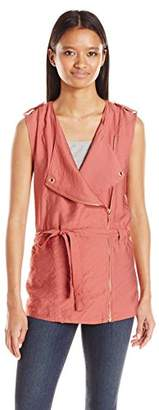My Michelle Junior's Sleeveless Cascading Vest