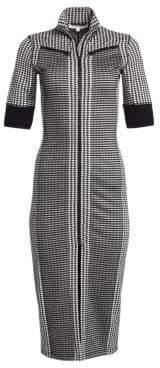 Proenza Schouler PSWL Gingham Zipper Midi Dress