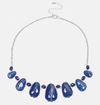 Avenue Speckled Blue Statement Necklace