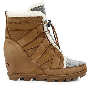 Sorel Women's Joan of Arctic Wedge II Cozy Shearling Boots