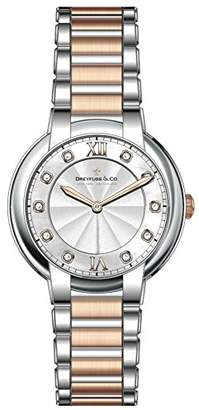 Dreyfuss & Co Dreyfuss Womens Analogue Classic Quartz Watch with Stainless Steel Strap DLB00062/D/01