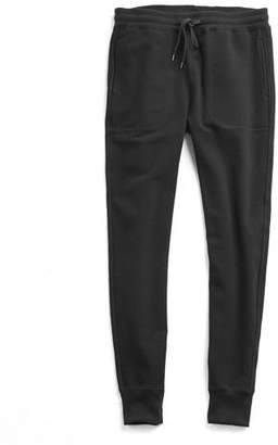 Todd Snyder Japanese Stretch Terry Sweatpant in Black
