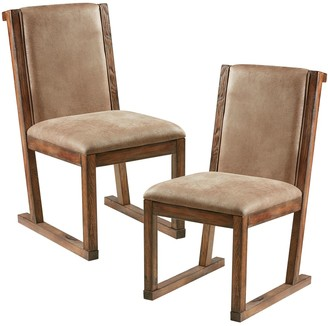 Inkivy INK+IVY Easton Faux-Leather Dining Chair 2-piece Set