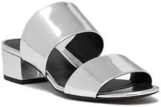 Via Spiga Galene Metallic Slide Sandal