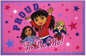 Fun Rugs Dora ''Proud To Be Me'' Rug