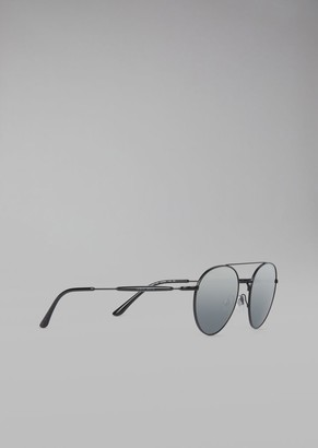 Giorgio Armani Sunglasses With Round Frame