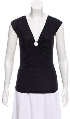 Just Cavalli Sleeveless Jersey Top