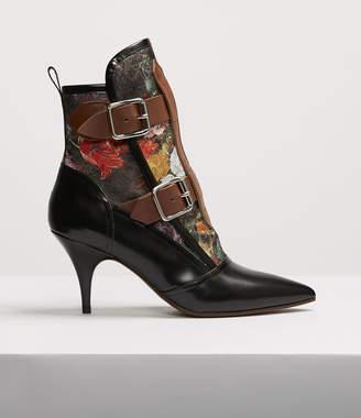 Vivienne Westwood Bondage Boots Floral