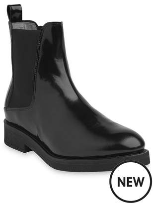 Whistles Leather Arno Rubber Sole Chelsea Boot