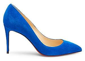 Christian Louboutin Women's Pigalle Follies 85 Suede Pumps