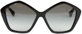 Miu Miu Black Plastic Sunglasses