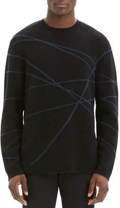 Theory Men's Aris Wizard Crewneck Sweater