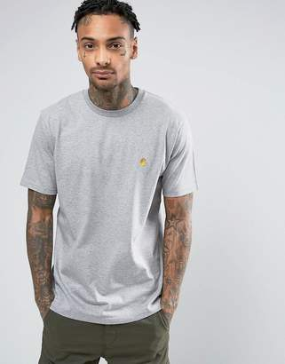 Carhartt WIP Chase T-Shirt In Gray