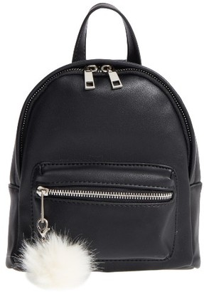Bp. Faux Leather Mini Backpack - Black $39 thestylecure.com