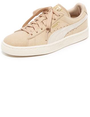 PUMA Suede Classic Shine Sneakers $75 thestylecure.com