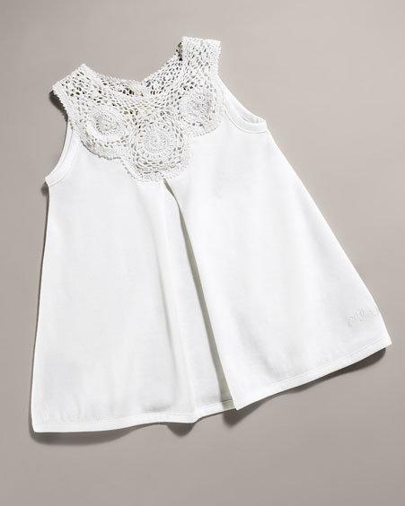 Chloé Jersey A-Line Dress