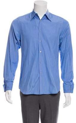 Miu Miu Striped French Cuff Shirt