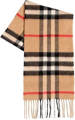Burberry Check Cashmere Scarf