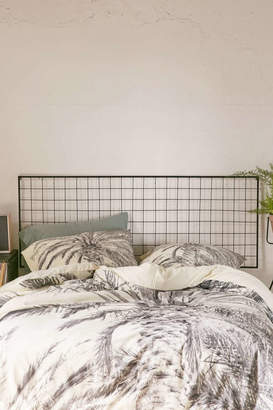 Grid Metal Headboard