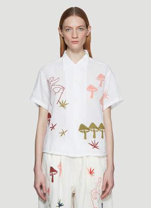 story. Mfg. Strange Trip Shirt in White