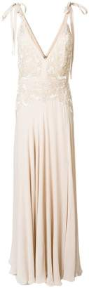 Elie Saab flared fitted dress