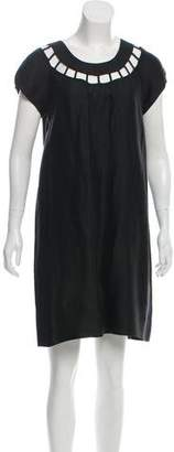 Sonia Rykiel Sonia by Short Sleeve Tent Dress