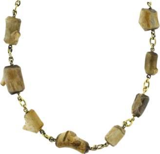 SYLVA & CIE Fossilized Alaskan Coral Bead Necklace