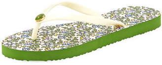 Tory Burch Thin Platform Printed Sandal