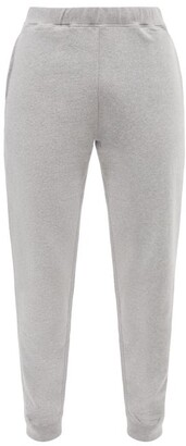 Sunspel Cotton Track Pants - Mens - Grey