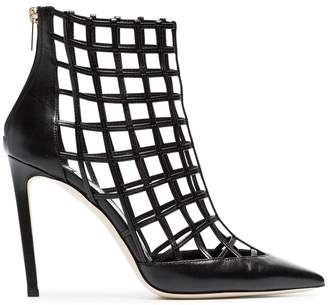 Jimmy Choo Sheldon 100 caged heels